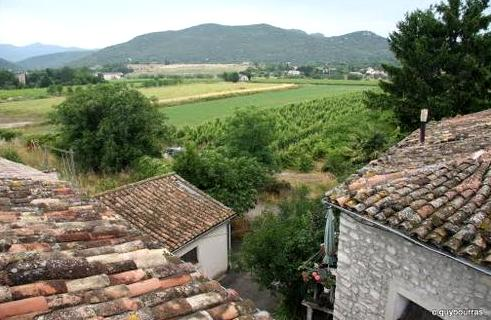 Saint-Hippolyte-du-Fort (Gard) Vue de Mandiargues
