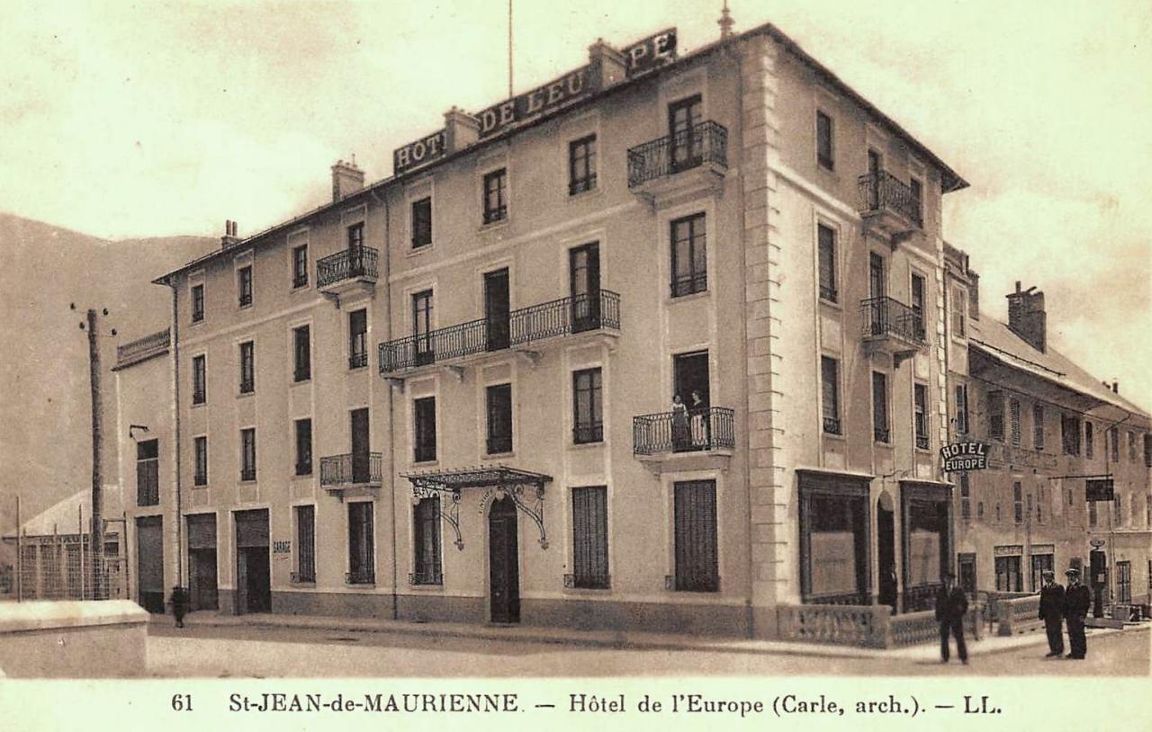Saint-Jean-de-Maurienne (Savoie) L'Hôtel de l'Europe CPA