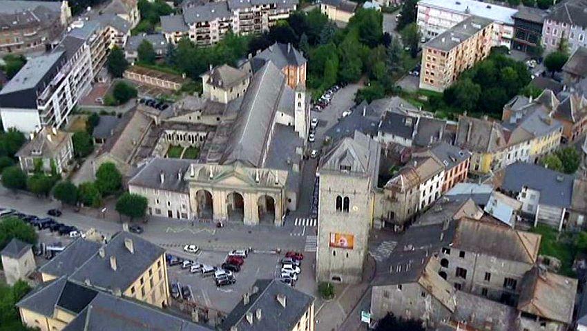 Saint-Jean-de-Maurienne (Savoie) La cathédrale