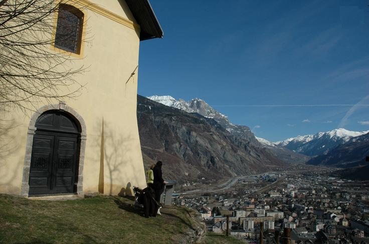 Saint-Jean-de-Maurienne (Savoie) La chapelle N-D de Bonne Nouvelle