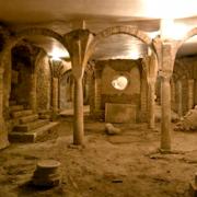 Saint-Jean-de-Maurienne (Savoie) La crypte de la cathédrale