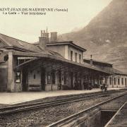 Saint-Jean-de-Maurienne (Savoie) La Gare CPA