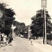 Saint-Jean-de-Monts (Vendée) L'avenue de la mer CPA