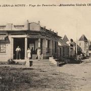 Saint-Jean-de-Monts (Vendée) L'épicerie de la Plage CPA