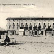 Saint-Jean-de-Monts (Vendée) L'Hôtel de la plage CPA