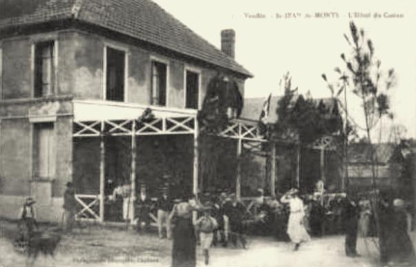 Saint-Jean-de-Monts (Vendée) L'Hôtel du Casino CPA