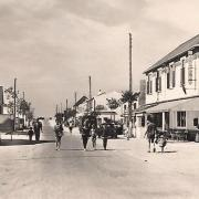 Saint-Jean-de-Monts (Vendée) La rue de la plage CPA