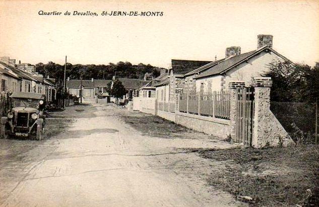 Saint-Jean-de-Monts (Vendée) Le quartier du Devallon CPA