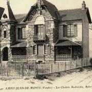 Saint-Jean-de-Monts (Vendée) Les chalets CPA