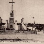 Saint-Jean-de-Monts (Vendée) Un calvaire CPA
