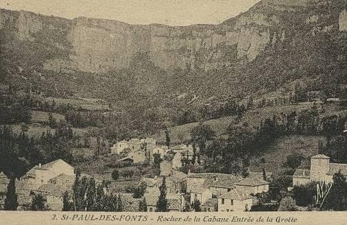Saint-Jean-et-Saint-Paul (Aveyron) CPA La cabane