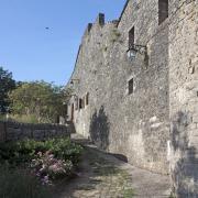 Saint-Jean-et-Saint-Paul (Aveyron) Saint-Jean-d'Alcas, rempart Ouest