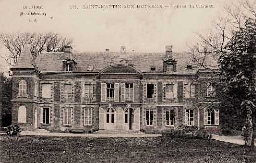Saint-Martin-aux-Buneaux (Seine Maritime) Château CPA