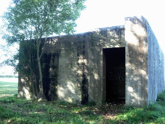 Saint-Martin-aux-Buneaux (Seine Maritime) Blokhaus du hameau de l'église