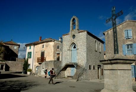 Saint-Maurice-Navacelles (Hérault) L'église