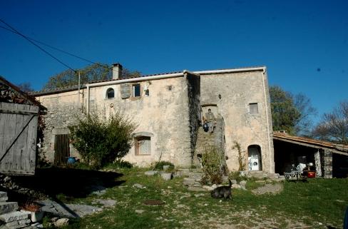 Saint-Maurice-Navacelles (Hérault) Le Ranquas, le gîte