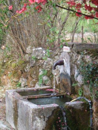 Saint-Pierre-de-la-Fage (Hérault) Parlatges, la fontaine