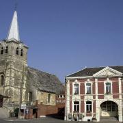 Saint python 59 l eglise et la mairie