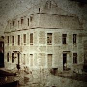 Saint python 59 une partie du chateau avant 1900 cpa