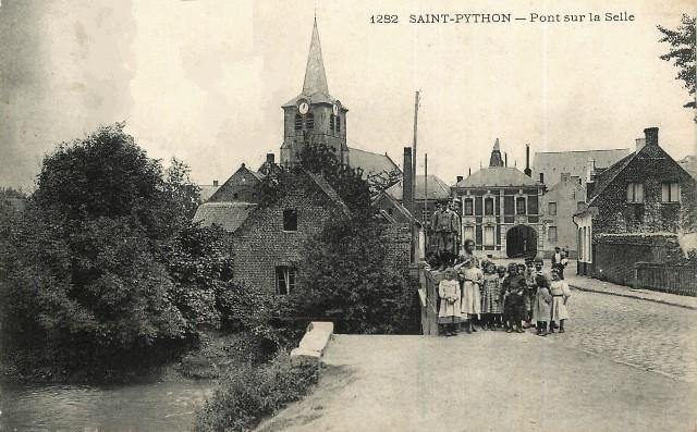Saint python 59 le pont cpa
