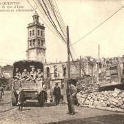Saint-Quentin (Aisne) CPA 1914, le beffroi