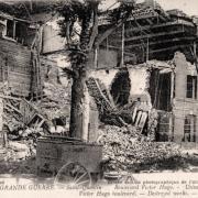 Saint-Quentin (Aisne) CPA 1914, le bld Victor Hugo
