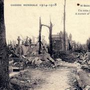 Saint-Quentin (Aisne) CPA 1914, le cimetière
