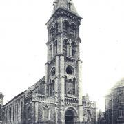 Saint-Quentin (Aisne) CPA l'église Saint Jean