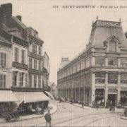 Saint-Quentin (Aisne) CPA Ets Séret avant 1908