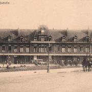 Saint-Quentin (Aisne) CPA la gare