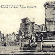 Saint-Quentin (Aisne) CPA le monument de la défense