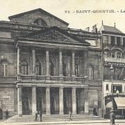 Saint-Quentin (Aisne) le théâtre Jean Vilar