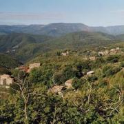 Saint-Roman-de-Codières (Gard) Vue du hameau de Savel
