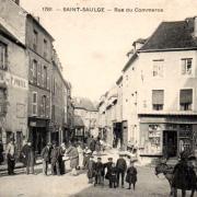 Saint-Saulge (Nièvre) L'Hôtel de France CPA