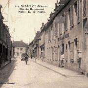 Saint-Saulge (Nièvre) L'Hôtel de la Poste CPA