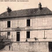 Saint-Saulge (Nièvre) La Gendarmerie CPA
