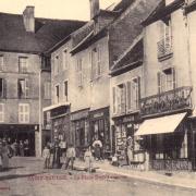 Saint-Saulge (Nièvre) La Place Dom Laveyne CPA