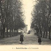Saint-Saulge (Nièvre) La Promenade CPA