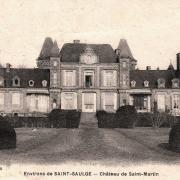 Saint-Saulge (Nièvre) Le château Saint-Martin CPA