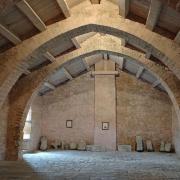 Sainte-Eulalie-de-Cernon (Aveyron) La Commanderie, dortoir chevaliers