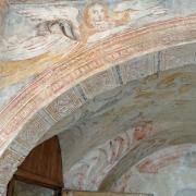 Sainte-Eulalie-de-Cernon (Aveyron) La Commanderie, salle des fresques
