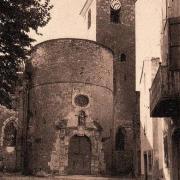 Sainte-Eulalie-de-Cernon (Aveyron) CPA L'église Sainte-Eulalie