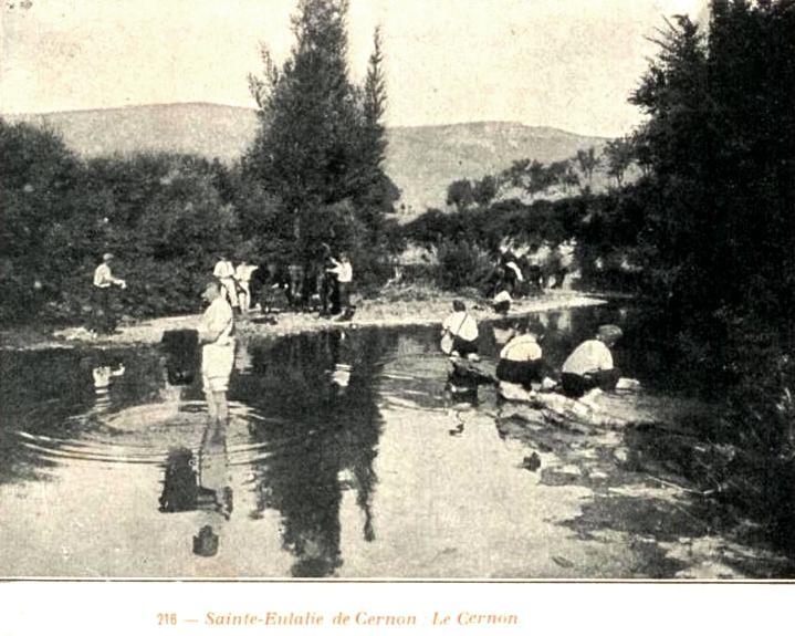 Sainte-Eulalie-de-Cernon (Aveyron) CPA le Cernon