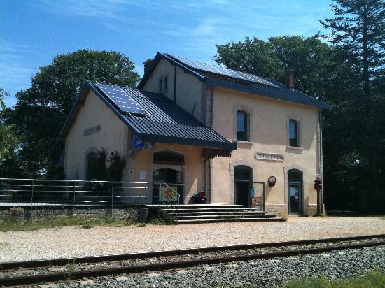 Sainte-Eulalie-de-Cernon (Aveyron) La gare