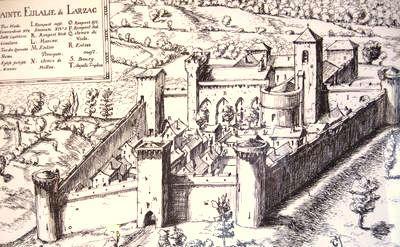 Sainte-Eulalie-de-Cernon (Aveyron) gravure