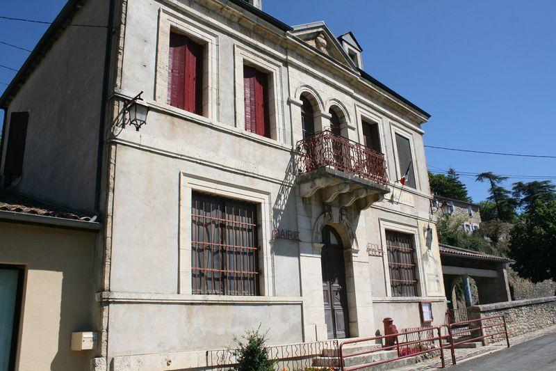 Sainte-Eulalie-de-Cernon (Aveyron) La mairie