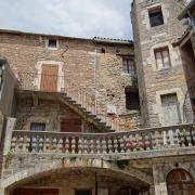 Sainte-Eulalie-de-Cernon (Aveyron) maison XVème et XVIIème