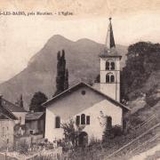 Salins-Fontaine (Savoie) L'église de Salins en 1903 CPA