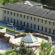 Salins-Fontaine (Savoie) Les thermes