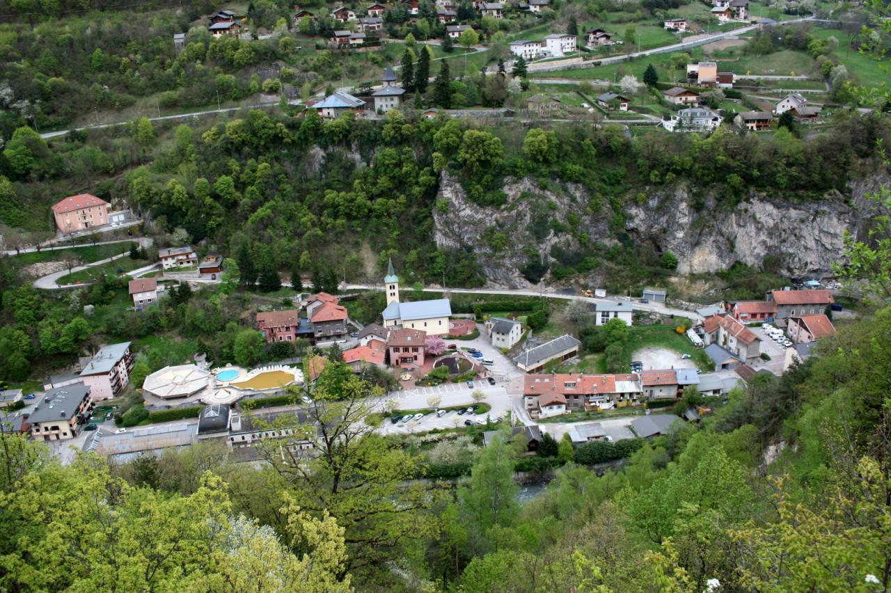 Salins-Fontaine (Savoie) Vue générale